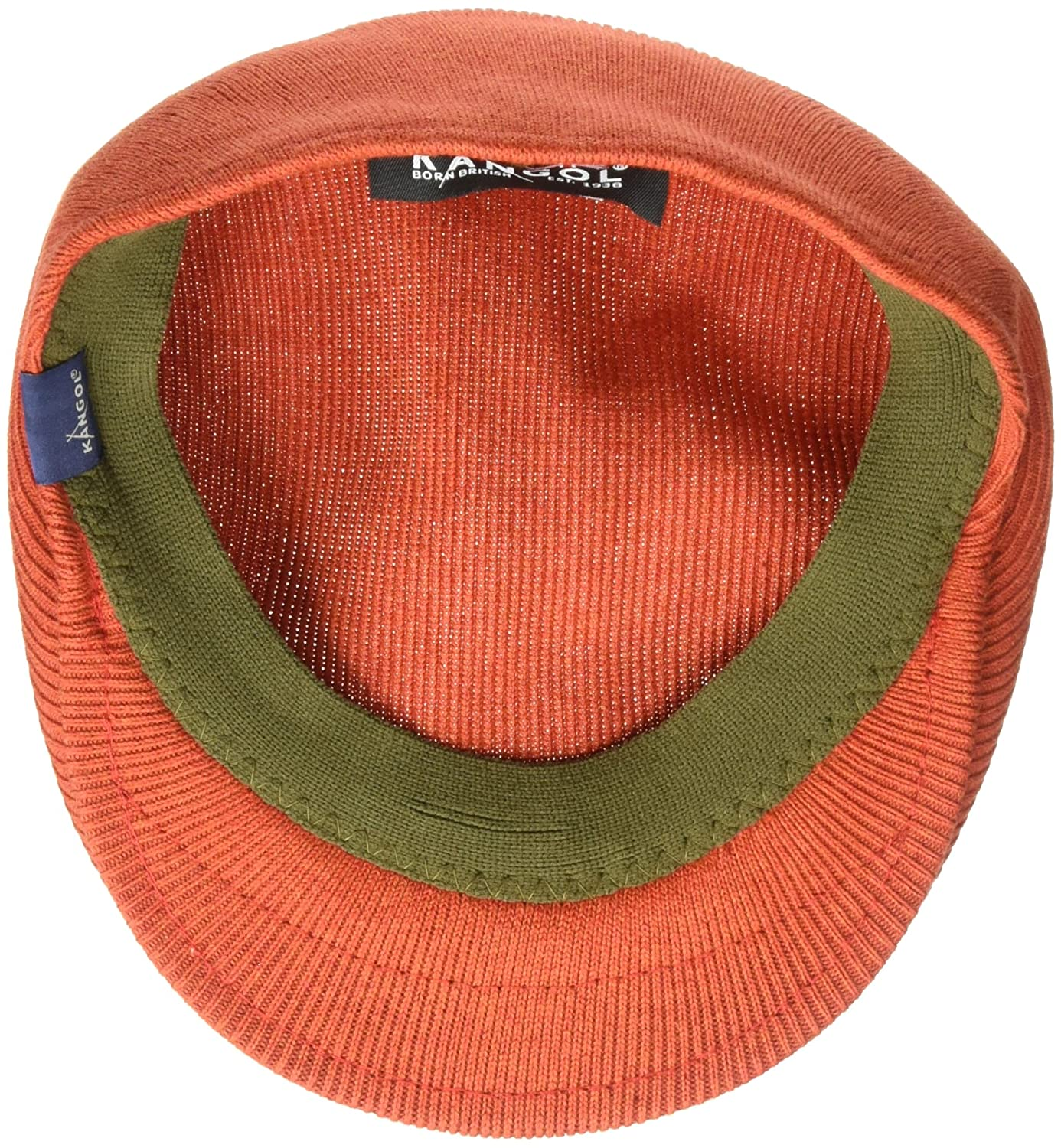 a0061337cc9 Kangol Men s Cotton Rib 504 Ivy Cap  Amazon.in  Clothing   Accessories