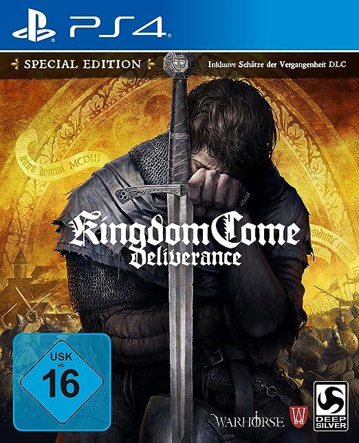Kingdom Come Deliverance Special Edition Ps4 Playstation 4