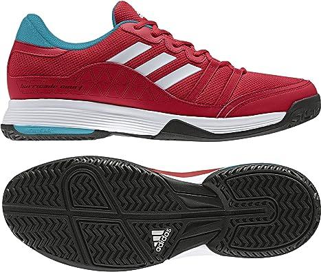adidas Barricade Court, Zapatillas de Tenis para Hombre, (Escarl/Ftwbla/Azuene), 49 1/3 EU: Amazon.es: Zapatos y complementos