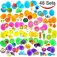 Joyin Toy 48-Pieces Filled Easter Eggs