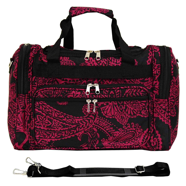 World Traveler 81T16-589 Duffle Bag One Size Multi Paws