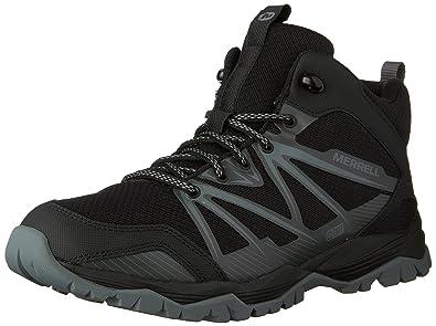 Merrell Capra Sport Black/Grey, Schuhe, Sneaker & Sportschuhe, Walking-Schuhe, Schwarz, Female, 36