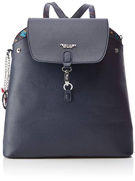 e290d94577 piero guidi Reversible Backpack Borsa a zainetto Donna, (Blu Notte), 21x18,