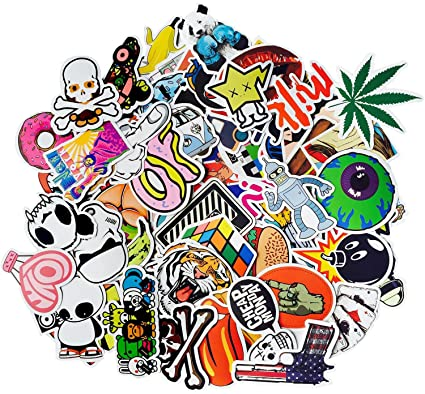 Candyhome 150 pcs vinyl graffiti stickers decal for laptop car motorcycle bicycle