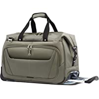 """Travelpro Luggage Maxlite 5 20"""" Lightweight Carry Suitcase Rolling Duffel, Slate Green, One Size"""