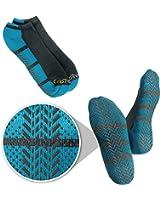 Grip Treads Best Non Skid / Slip Socks for Yoga, Pilates, Hospital, and Gym