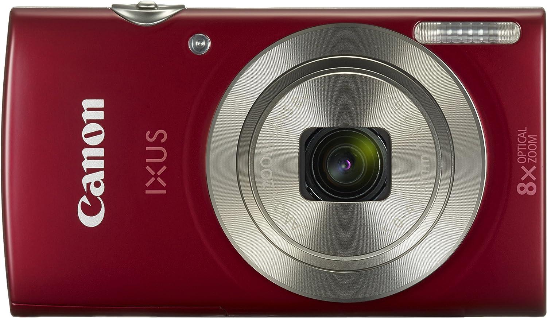 Canon Ixus 175 Kompaktkamera 2 7 Zoll Rot Kamera