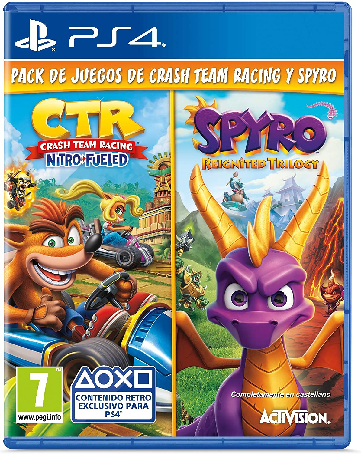 Crash Team Racing Nitro Fueled + Spyro Reignited Trilogy bundle ...
