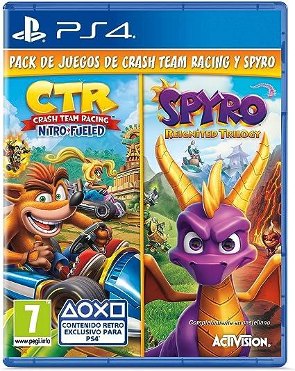 Crash Team Racing Nitro Fueled + Spyro Reignited Trilogy bundle ...