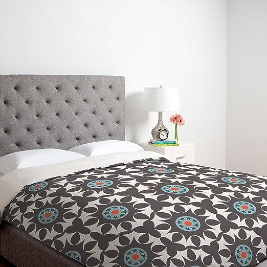 Amazon.com: Deny Designs Heather Dutton Amirah Dusk Duvet Cover, King: Home & Kitchen