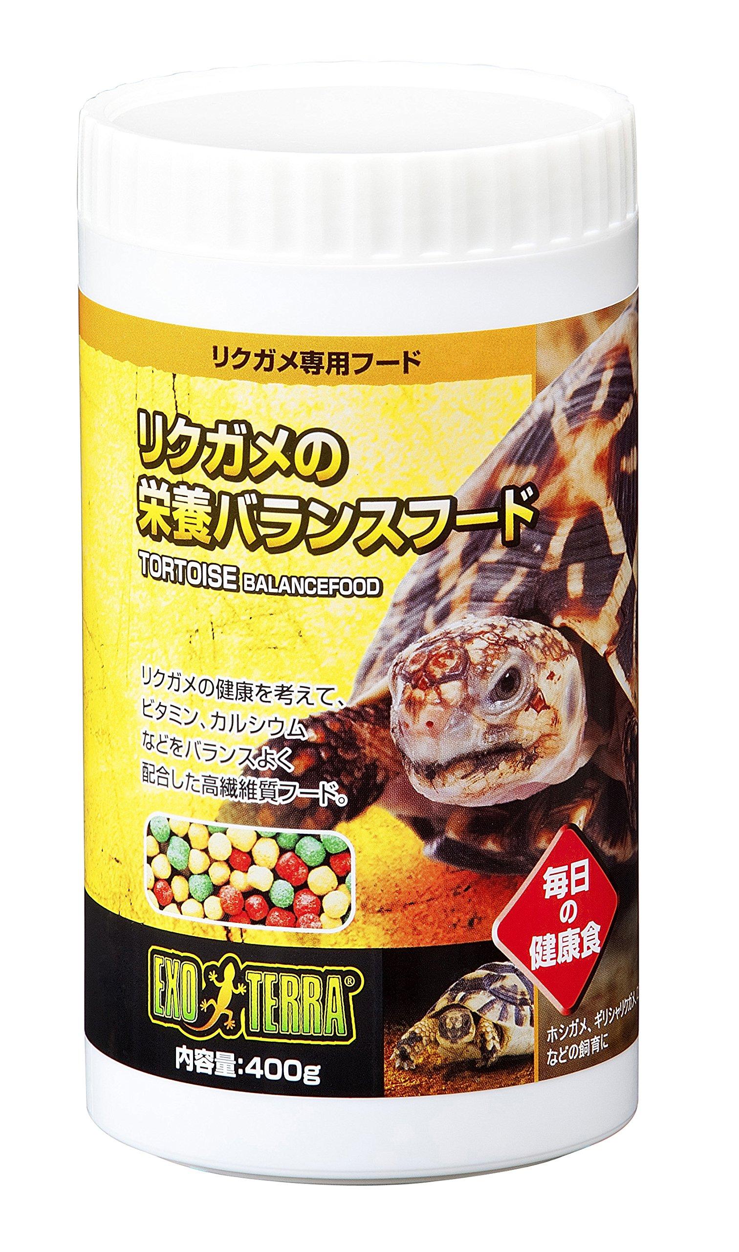 ジェックス リクガメの栄養バランスフード 400g