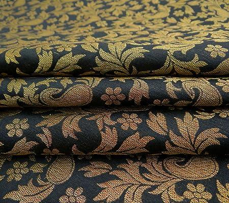 Knitwit Brocade Paisley Fabric Dressmaking 44\