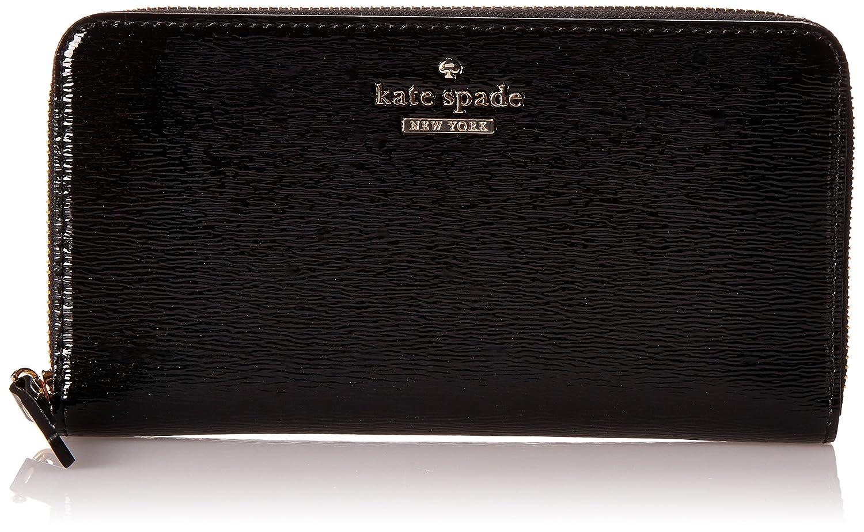 (ケイトスペード) kate spade ケイトスペード 財布 KATE SPADE PWRU3926 001 CEDAR STREET PATENT LACEY 長財布 BLACK[並行輸入品] B00JE98JTW