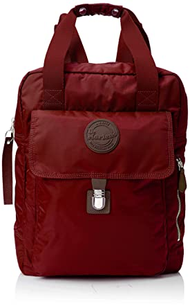 9aabdf68aa00 Dr. Martens Unisex Large Nylon Backpack Cherry Red Nylon One Size