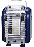 グリーンウッド カセットボンベ式ポータブルヒーター 屋内用 シルバー GCP-181(S)