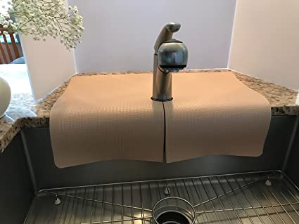 Kitchen Sink Faucet Splash Guard Protects Area Around Faucet