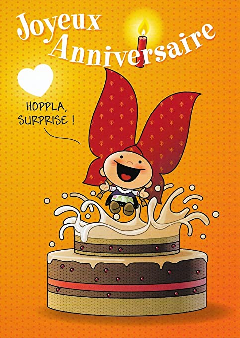 Alsace Cadeau Carte De Voeux Lovely Elsa Anniversaire Hoppla