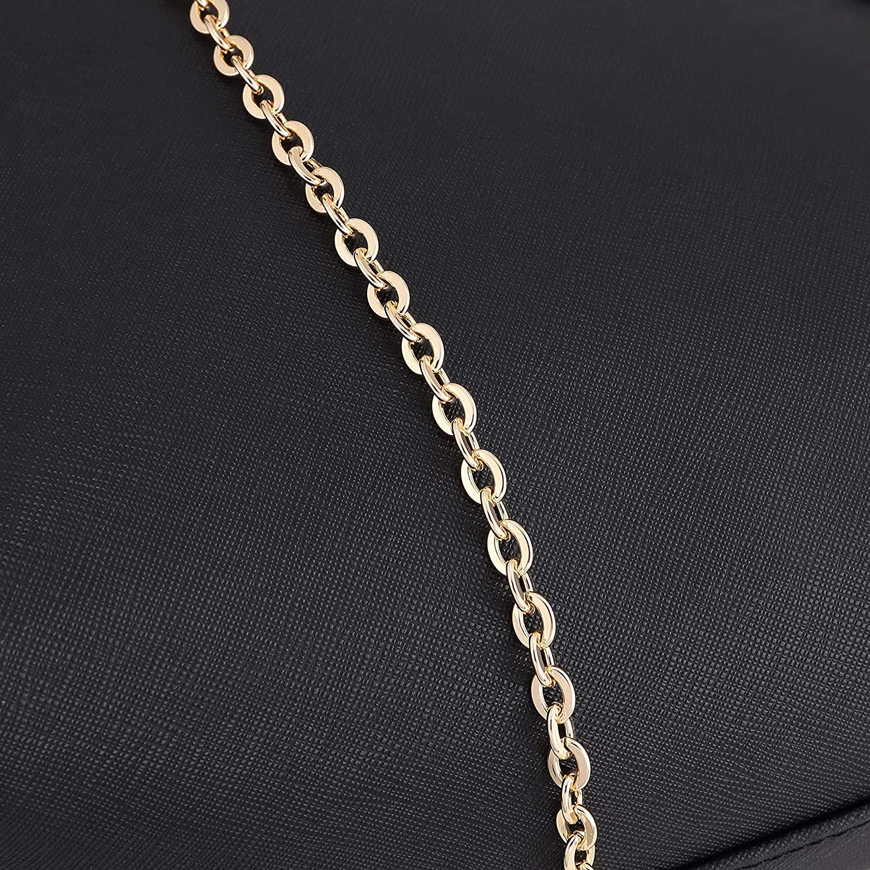 DIY Cross Body Chain Strap for Small Bags Pochette Mini NM Eva Favorite PM MM Replacement Chain Accessories for Shoulder Bag S1 110cm