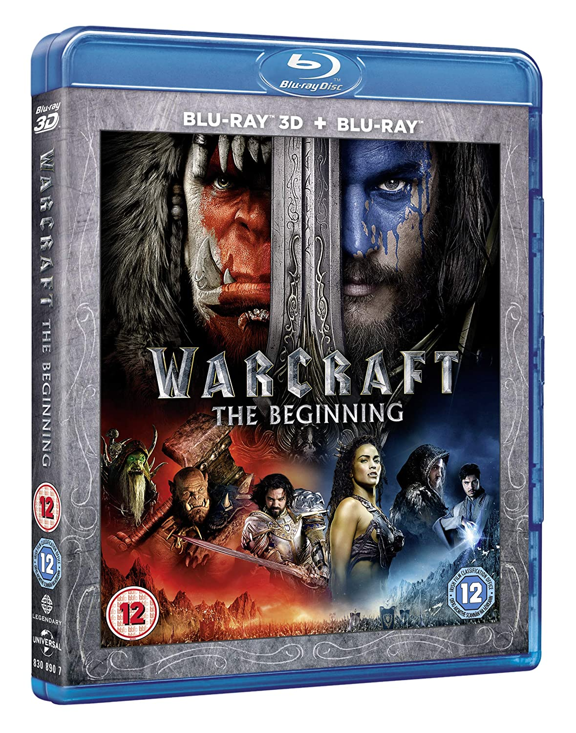 Amazon Com Warcraft Blu Ray 2016 Movies Tv