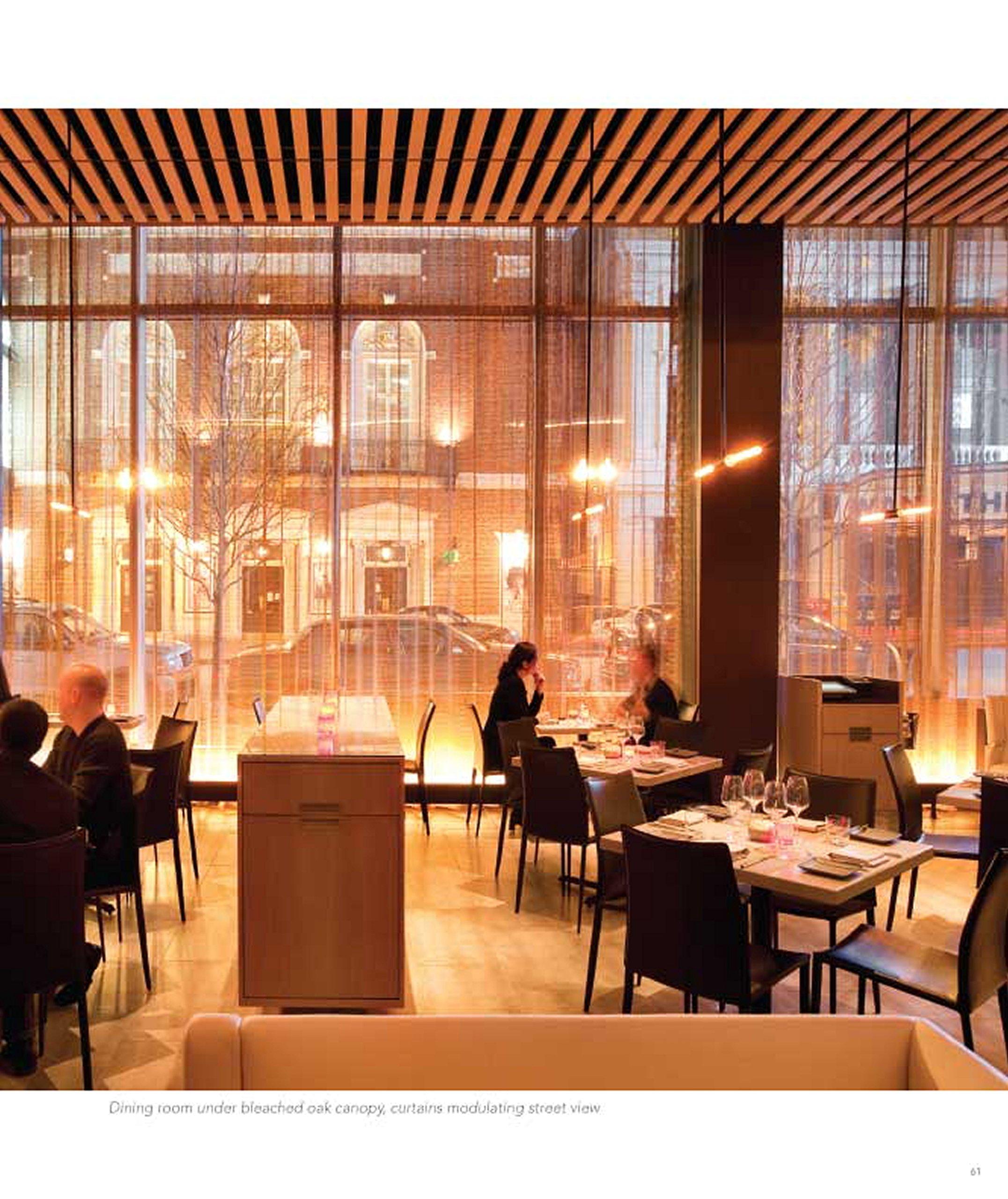 Restaurant Architecture of Bentel /& Bentel Nourishing the Senses