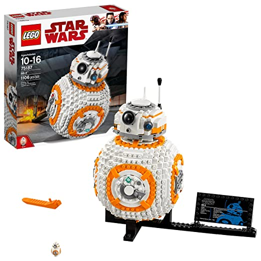 Amazon lego star wars viii bb 8 75187 building kit 1106 piece amazon lego star wars viii bb 8 75187 building kit 1106 piece toys games fandeluxe Image collections