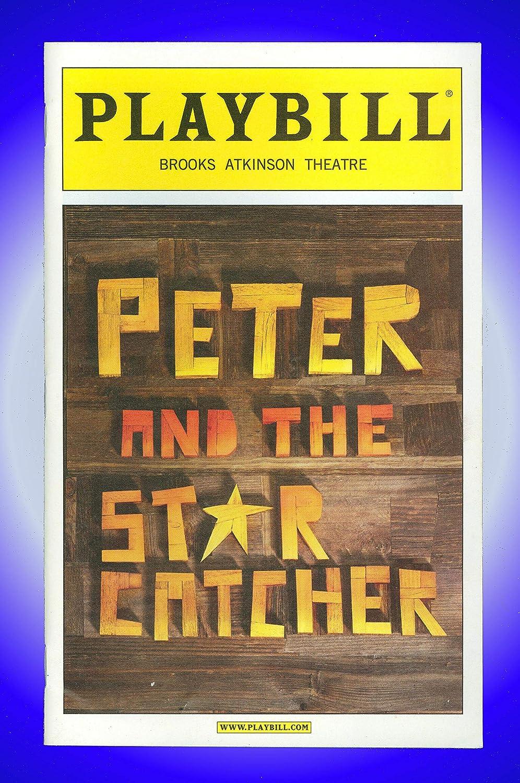 Peter and the Starcatcher, Broadway playbill + Christian Borle, Arnie Bu