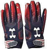 Under Armour Men's F6 LE Football Gloves, Midnight