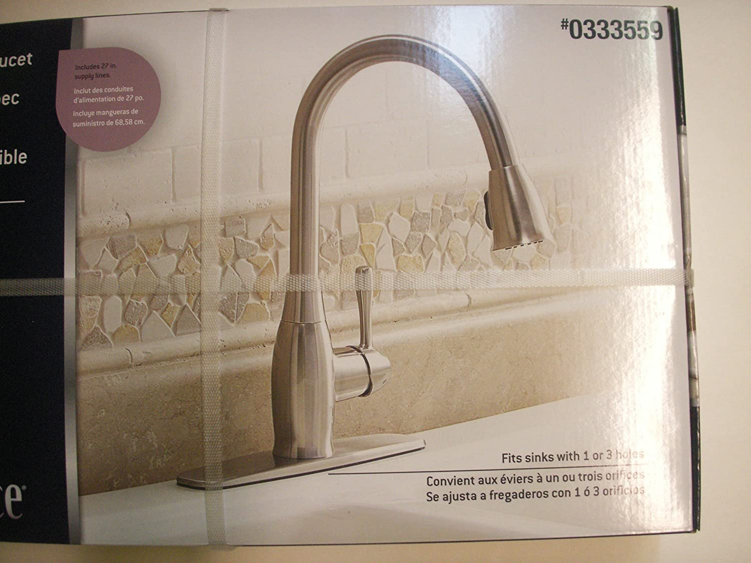Pull-Down Kitchen Faucet #0333559 BOX. - Touch On Bathroom Sink Faucets - Amazon.com