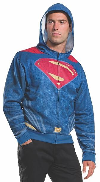 ZXFD058 3D Printing Zipper Hoodie cos Superman Superhero Mens Guard Clothes Animation