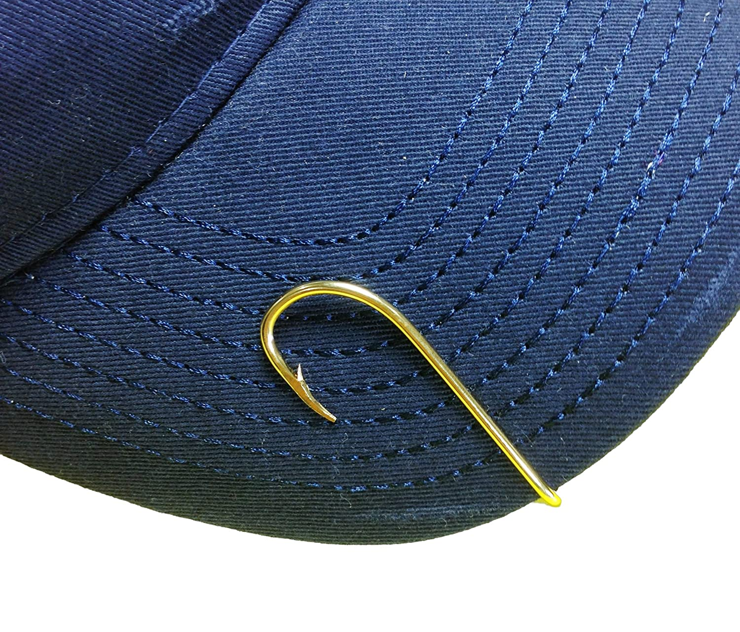 5 proven tips on how to wear a fish hook hat clip 4 is for Fishing hooks for hats
