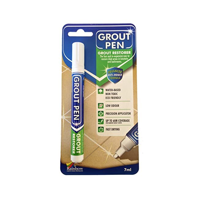 Grout Pen White - Revives & Restores tired...