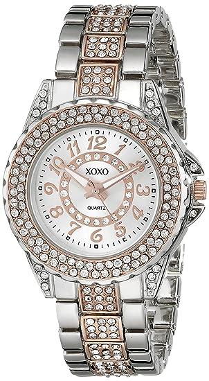 XOXO XO5749 - Reloj de pulsera Mujer, Aleación, color Bicolor