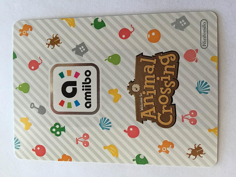 Amiibo Card Animal Crossing Happy Home Design Card SABLE 004/100 SP
