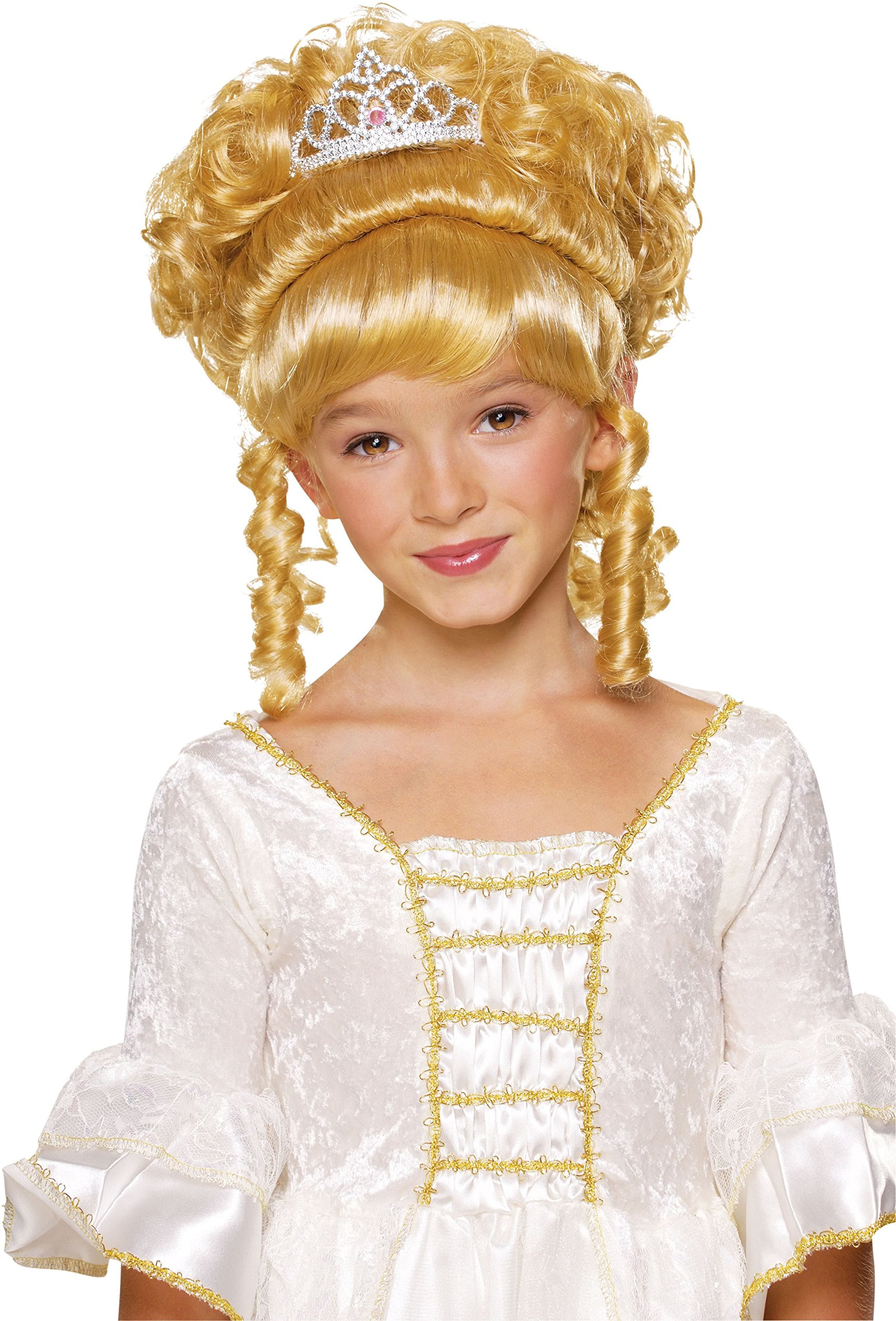 Rubie's Charming Princess Child's Costume Wig, Blonde