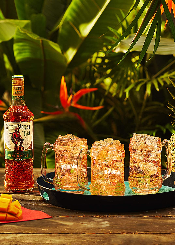 Captain Morgan Tiki Mango & Pineapple Flavour Spirit Drink 25 ...