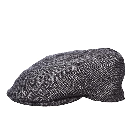 99e8c3da5d5 Stetson Men s Wool Blend Herringbone Ivy Cap