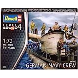 Revell Modellbausatz 02525  - Alemania figuras naval, la Segunda Guerra Mundial (conjunto de caracteres) en escala 1:72