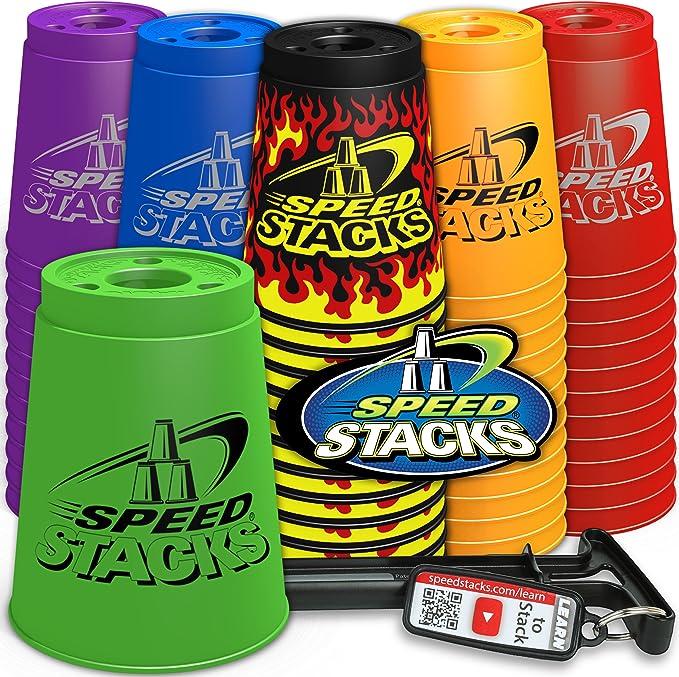 Speed Stacks Juego de Vasos (Rosa): Amazon.es: Juguetes y juegos