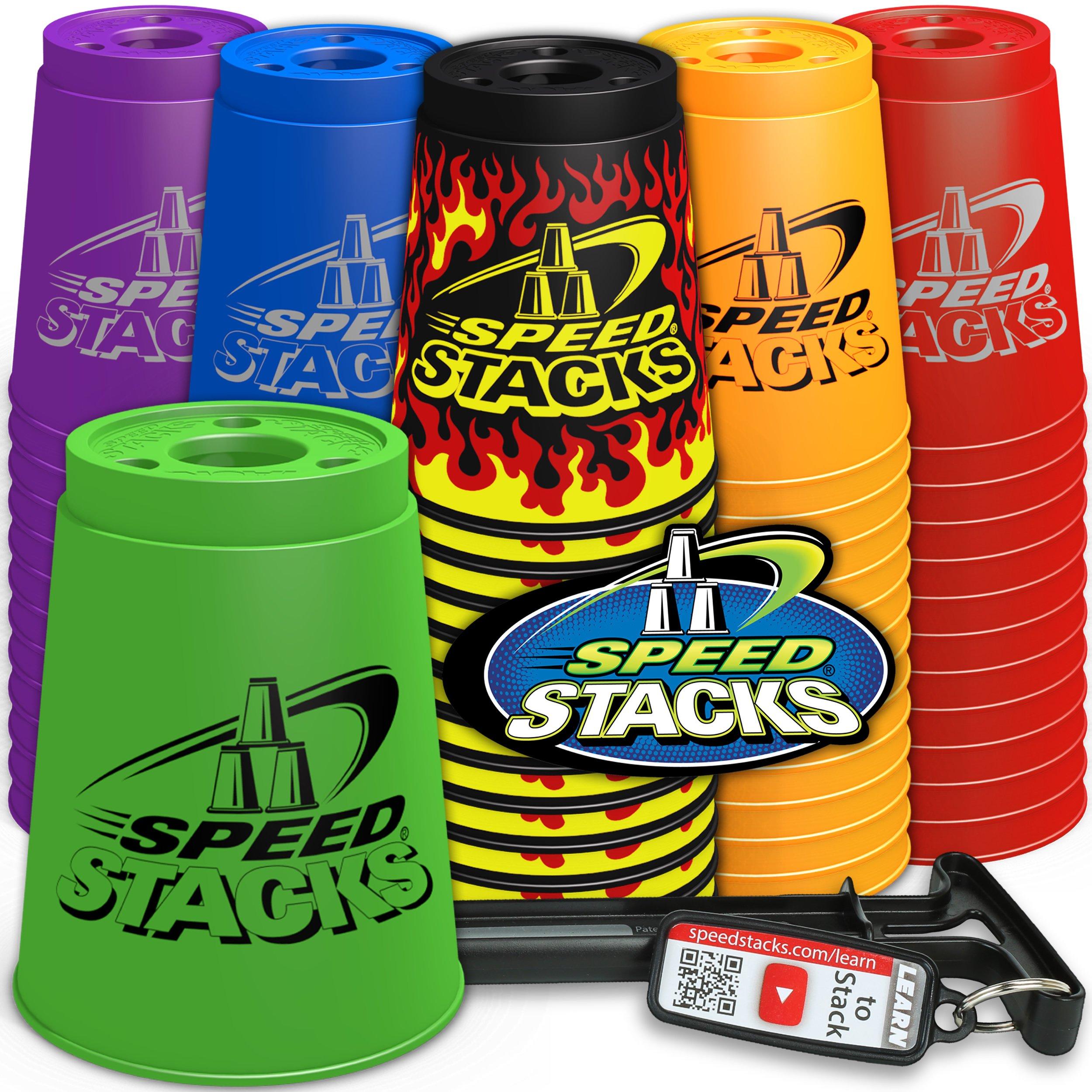Speed Stacks Set - Black Flame by Speed Stacks