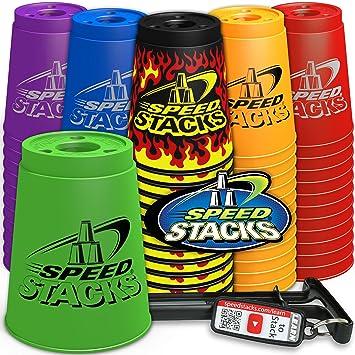 SPEED STACKS Splatter Set (Sport Stacking / Cup Stacking)
