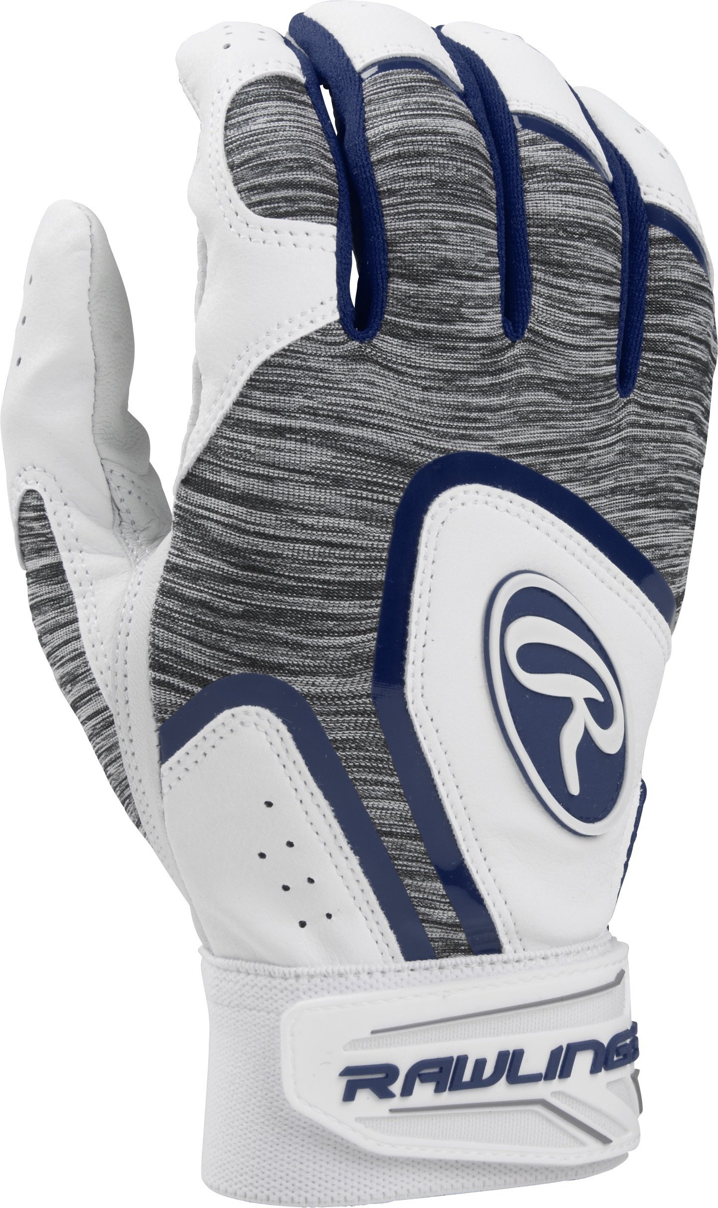 Rawlings 5150WBG-N-89 Rawlngs 5150 Batting Gloves, Navy by Rawlings