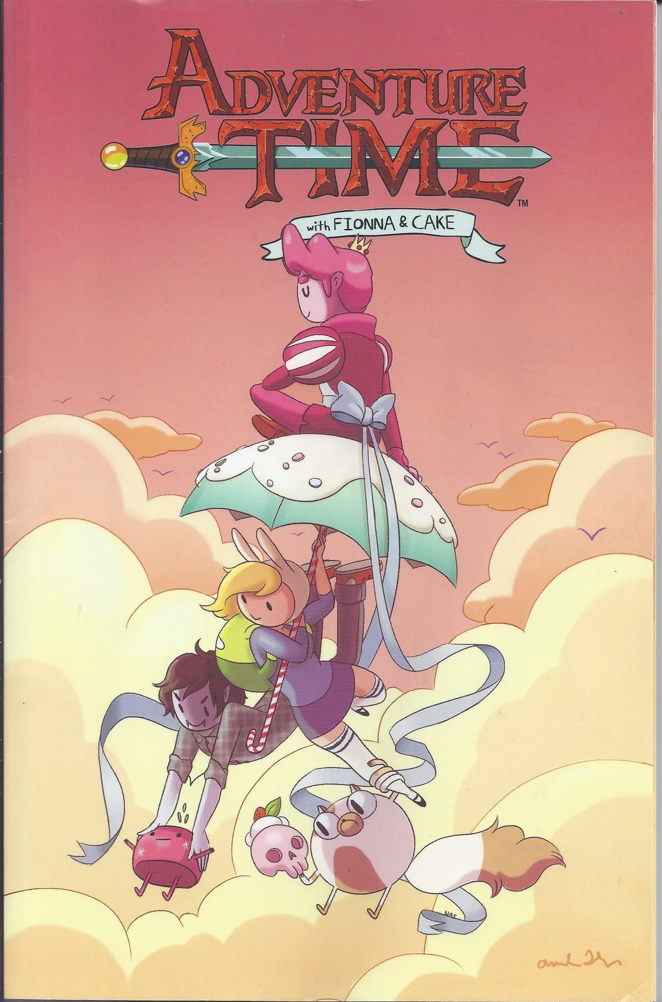 Adventure Time with Finonna & Cake ebook