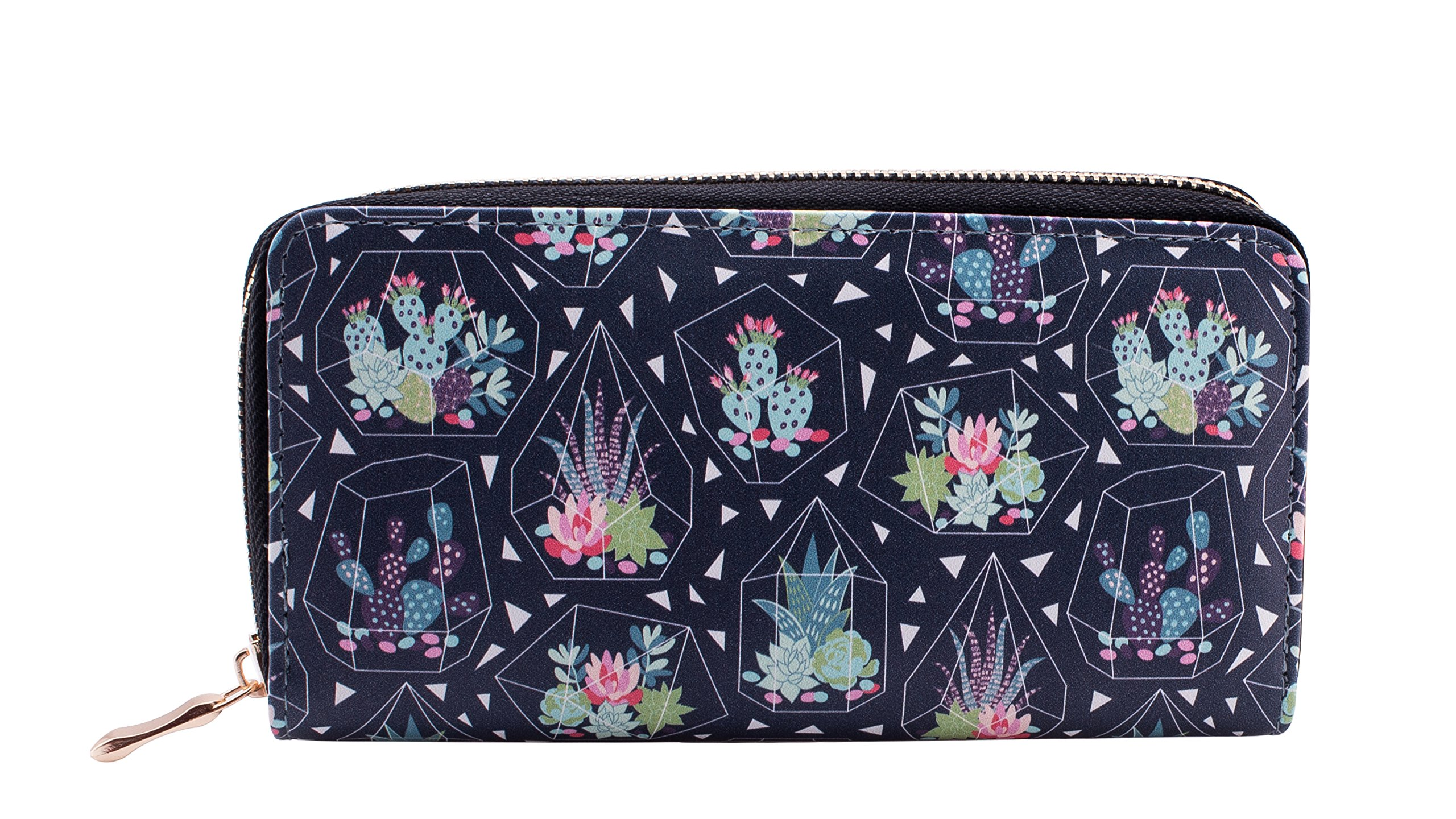 Cute Cactus Wallets for Women - Fashionable Small Womens Wallets