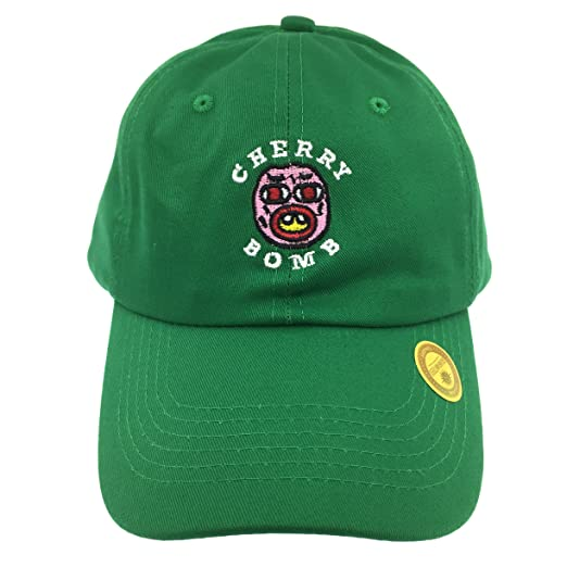 d742e6be05251 Golf Wang Cherry Bomb Baseball Dad Hat Cap Bastard Snapback Wolf Men Panel  (Green)