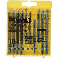 DeWalt HCS sticksågsblad set (10 delar, för trä och metall) DT2294