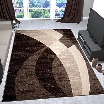 Tappeti design moderno tappeto bianco nero beige colorato - Tappeti soggiorno amazon ...