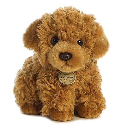 Amazon Com Aurora World Miyoni Poodle Pup Plush Toys Games