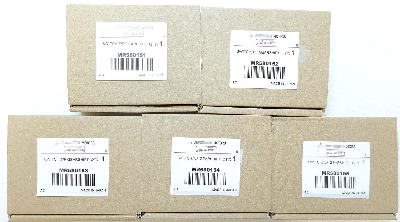 ALL 5 Mitsubishi Montero Shogun 3.2 DiD 3.5 GDI Mk3 99-06 4x4 Caja de transferencia INTERRUPTORES mr580151,mr580152,mr580153,mr580154 & mr580155: Amazon.es: ...