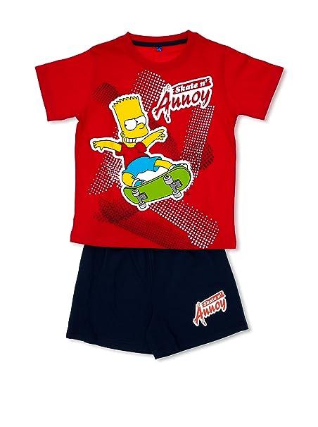 MADNESS Pijama The Simpsons Rojo 10 años (140 cm)https://amzn.to/2Gveaqq