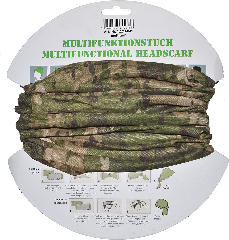 Mil-Tec Multifunction Headgear Multitarn